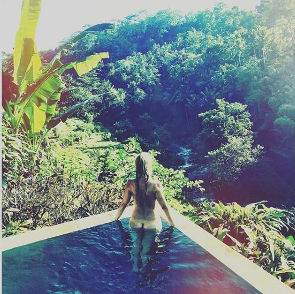 Caroline Beil nackt auf Instagram   Express