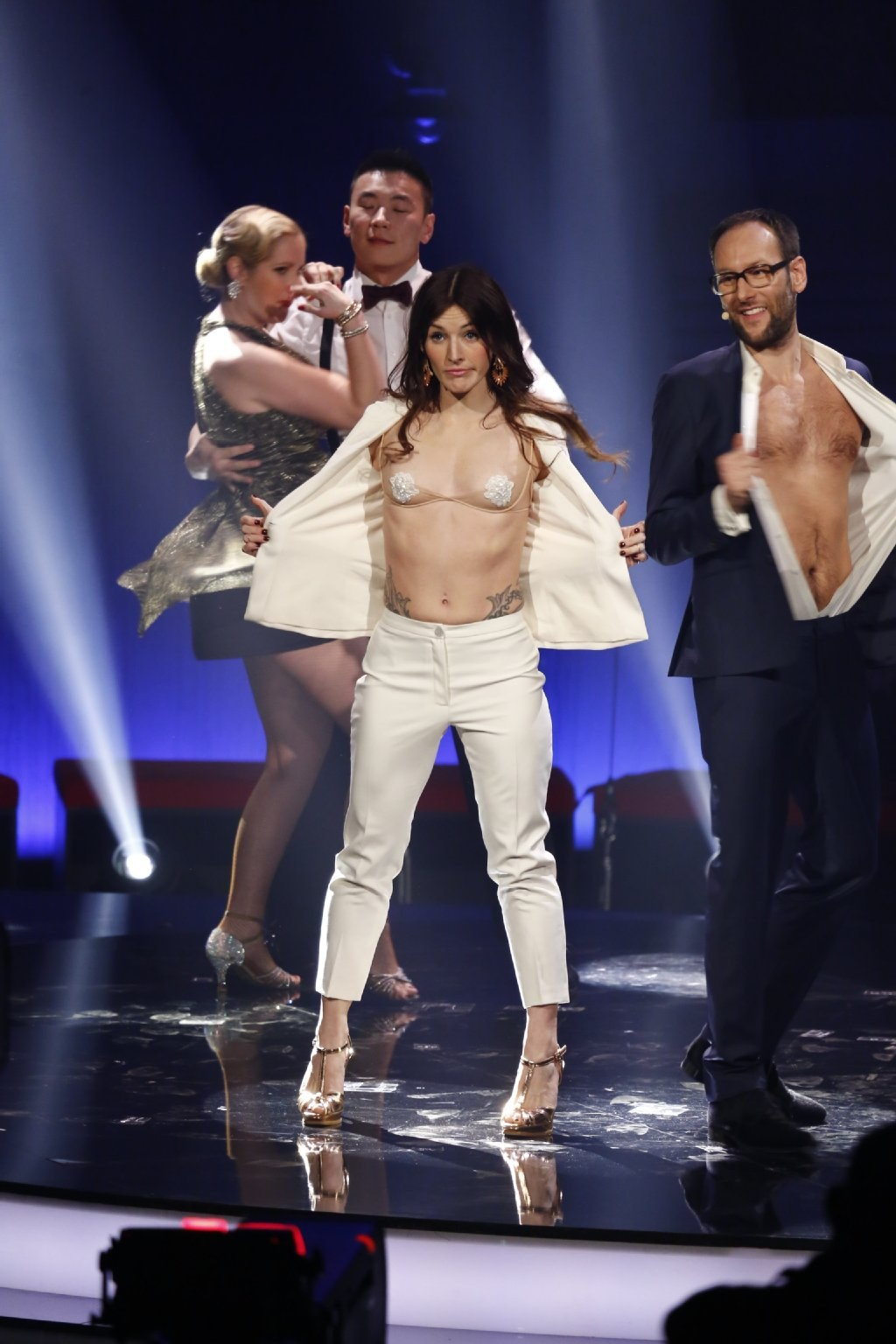 Jeannine michaelsen nackt