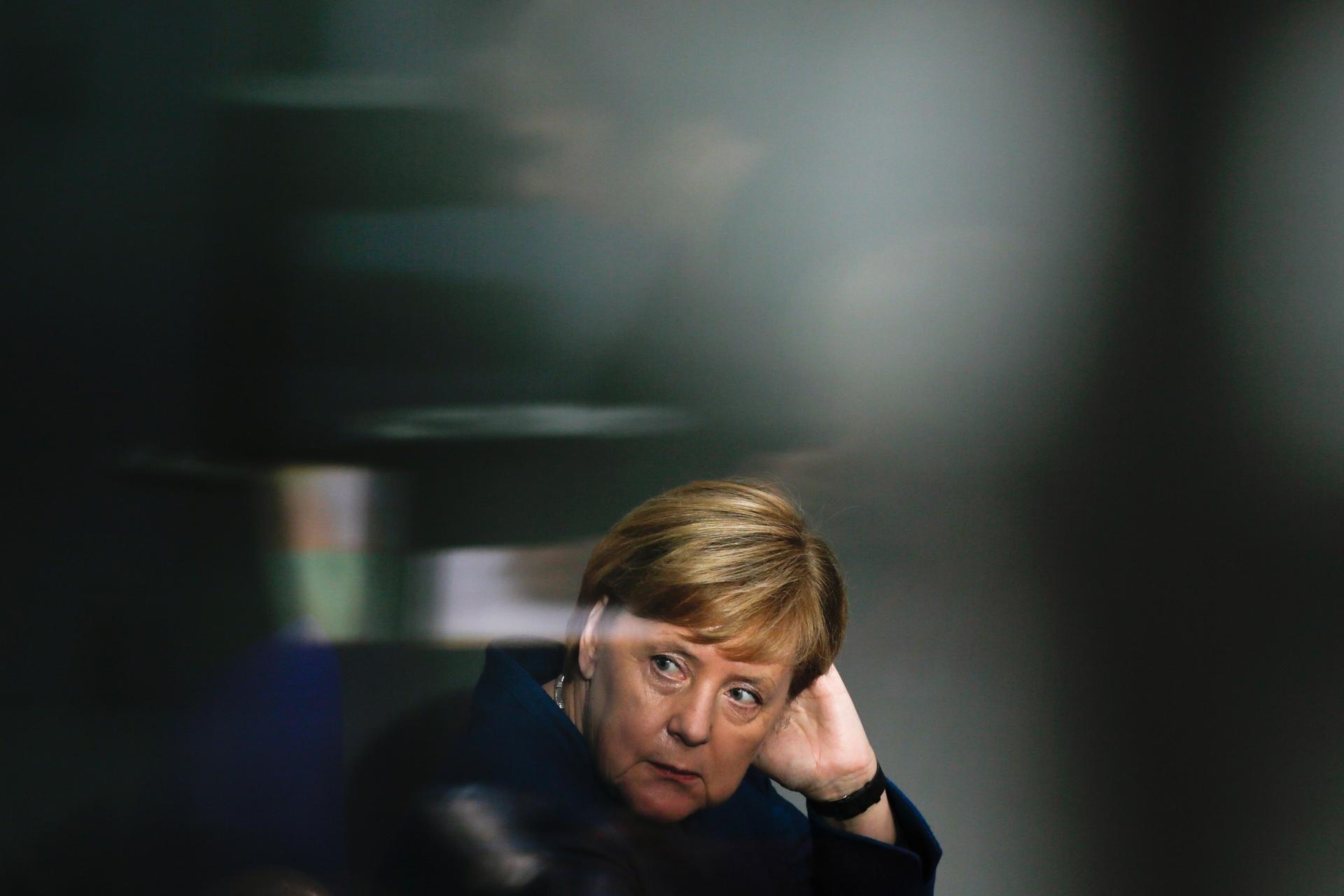 Bundeskanzlerin Angela Merkel (CDU) zieht sich vom
