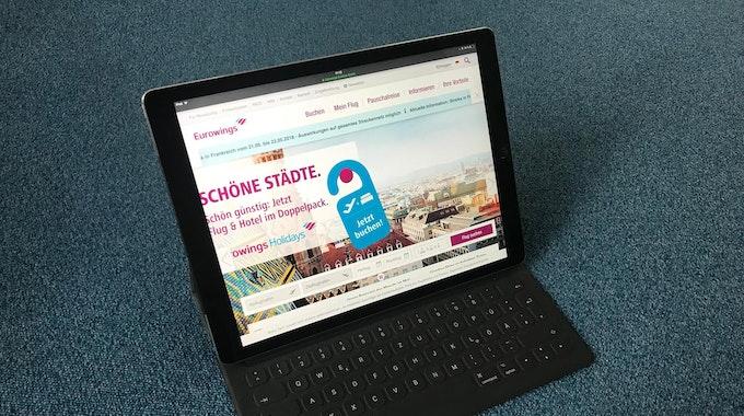 iPad Pro Eurowings
