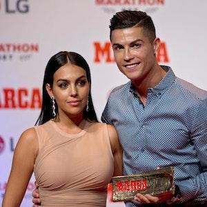Georgina Rodriguez und Christiano Ronaldo, gemeinsam bei einer Gala