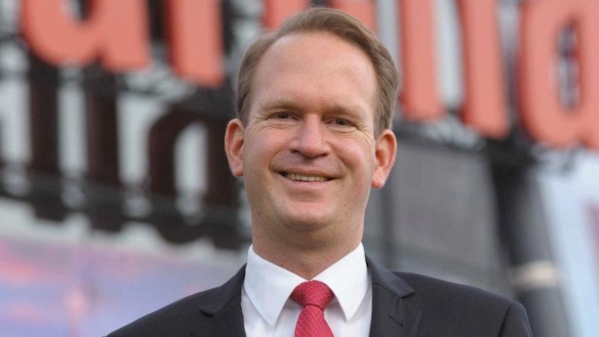 Stefan Löcher, Chef der Lanxess-Arena Köln