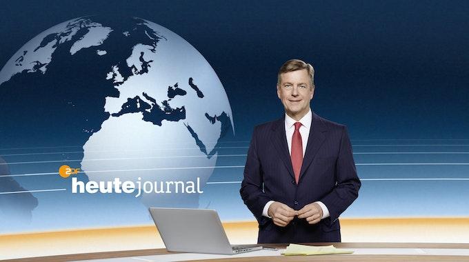 Claus Kleber im heute-journal-Studio (Archivfoto): über seine Anmoderation zur CDU-Krise reagierte ein CDU-Mann wütend.