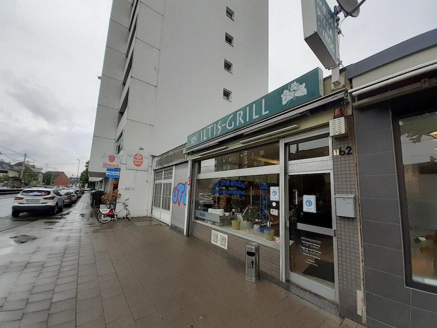 Der Iltis-Grill in Neu-Ehrenfeld von außen.