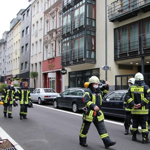 Einsatz der Kölner Feuerwehr