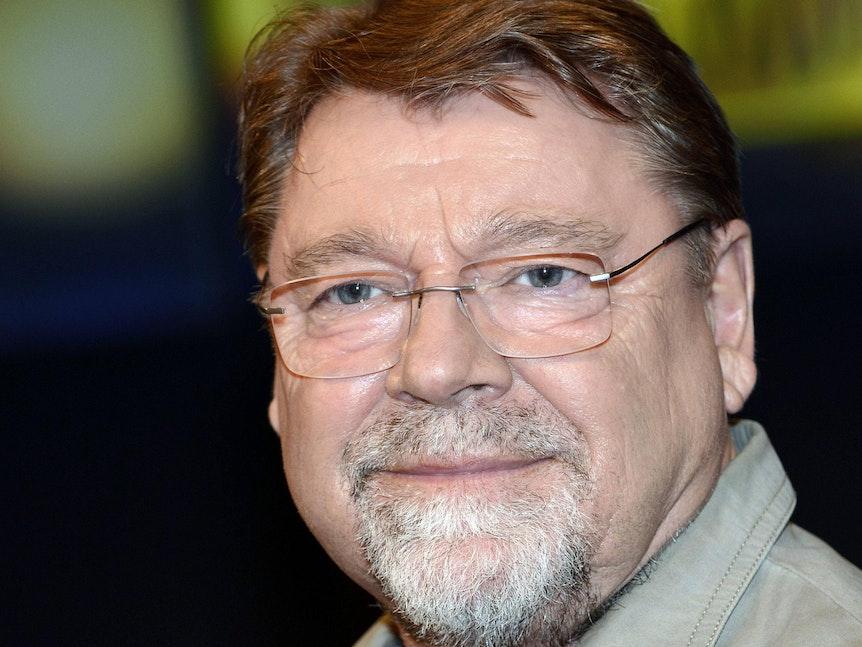 Jürgen von der Lippe während eines Interviews.