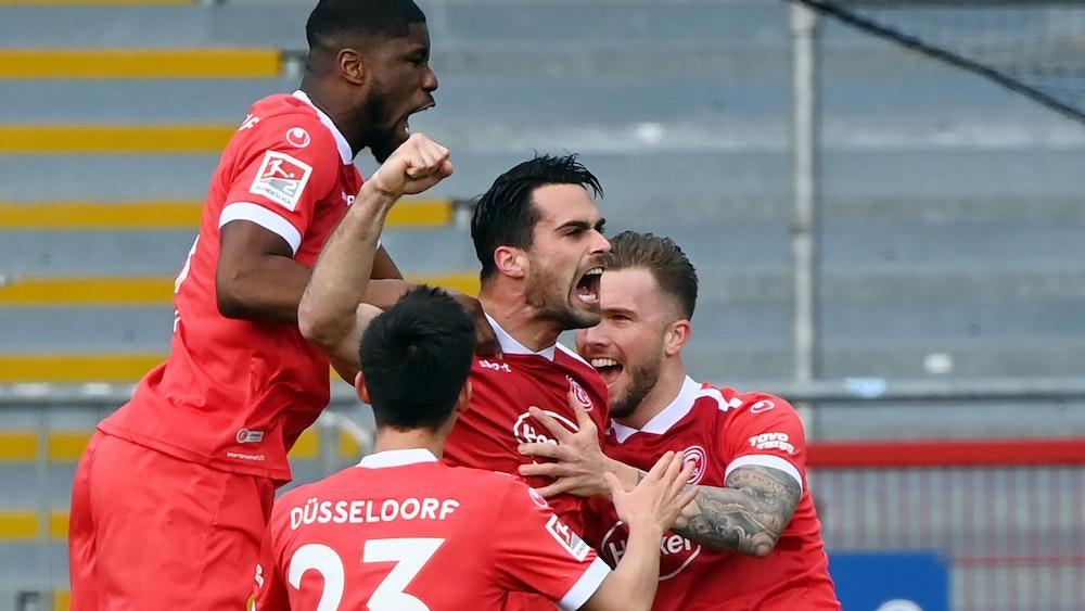 Luka Krajnc bei Fortuna Düsseldorf.