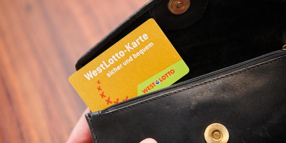 Sie gehört in jedes Portemonnaie: Mit der WestLottoKarte keinen Gewinn verpassen.