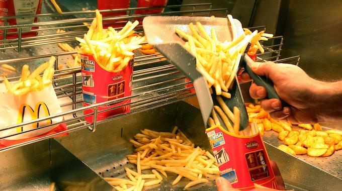 Pommes im Happy Meal von McDonalds sind vegetarisch
