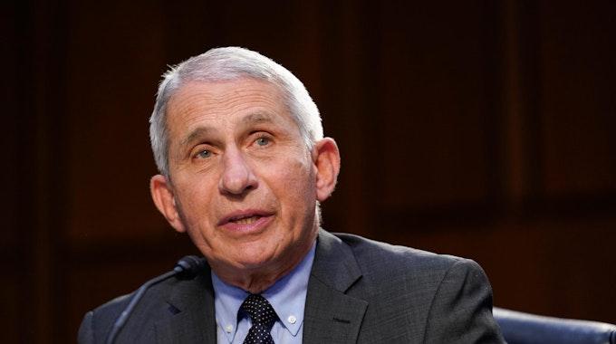 Anthony-Fauci ist Corona-Experte für die USA und Joe Biden, er warnt vor der Ausbreitung von Delta