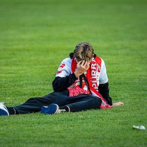 Stadion - Fans geschockt