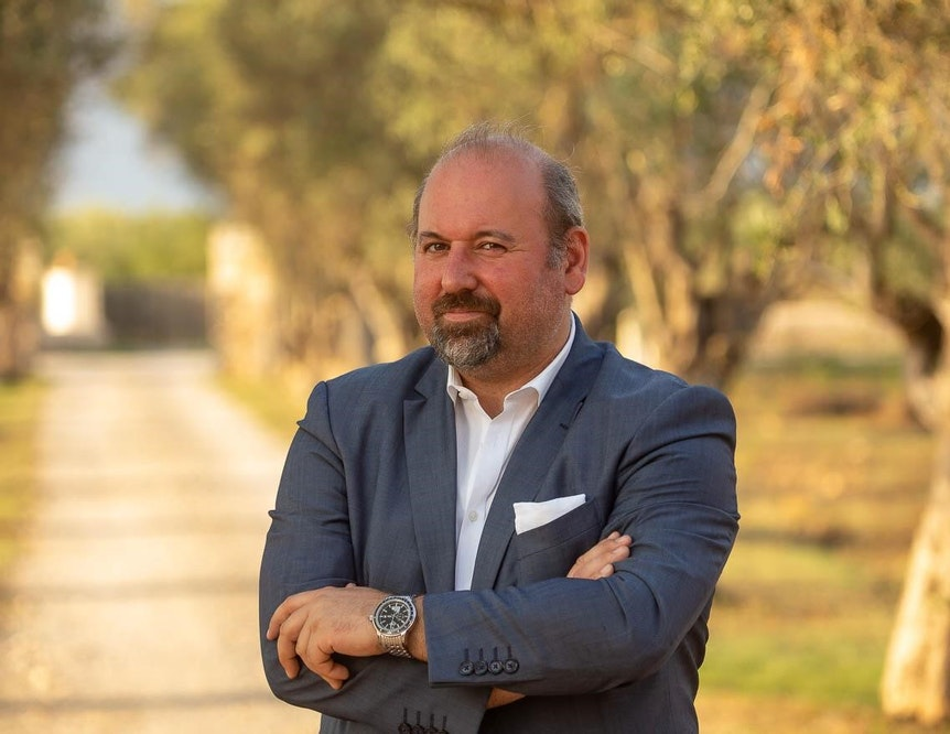 Roberto Campione im Portrait