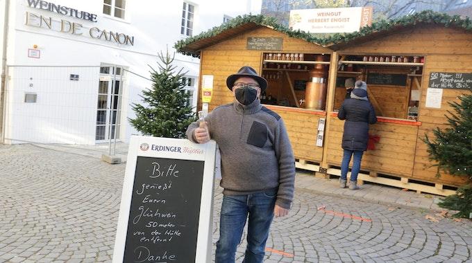 Düsseldorf Glühwein