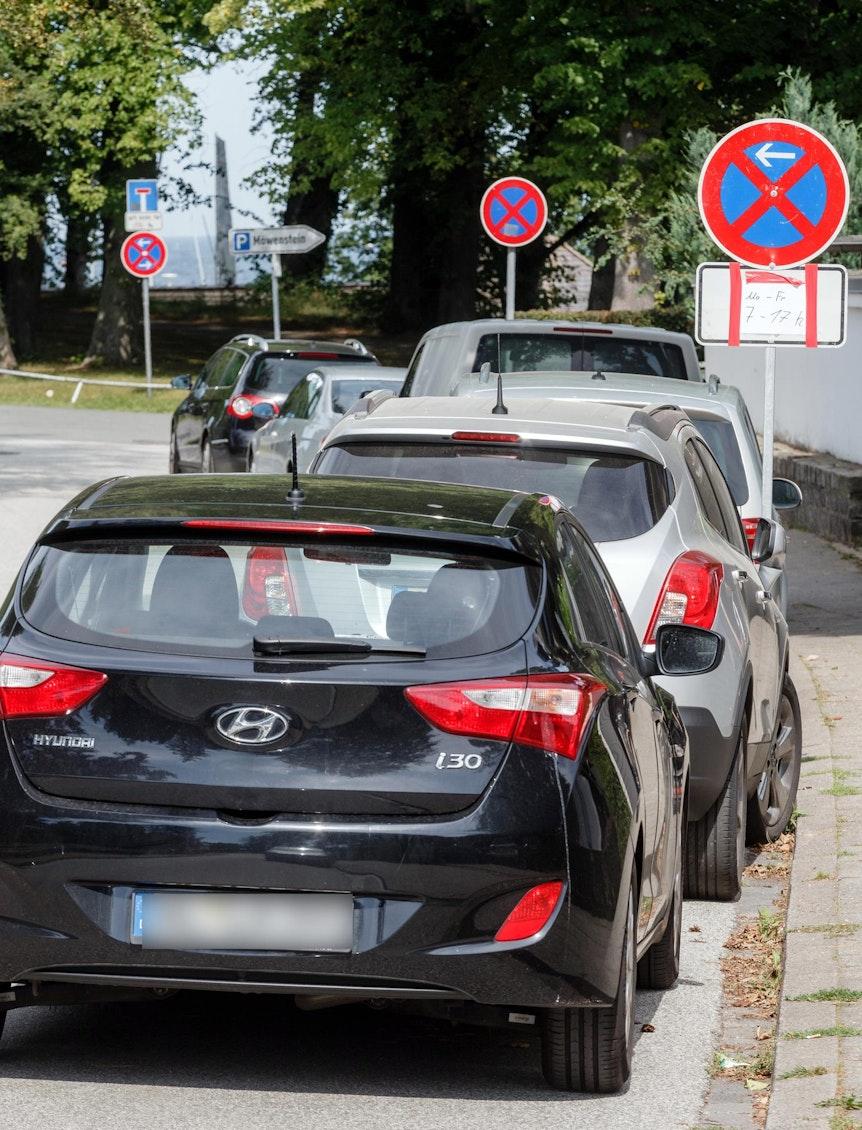 temporäres parkverbot