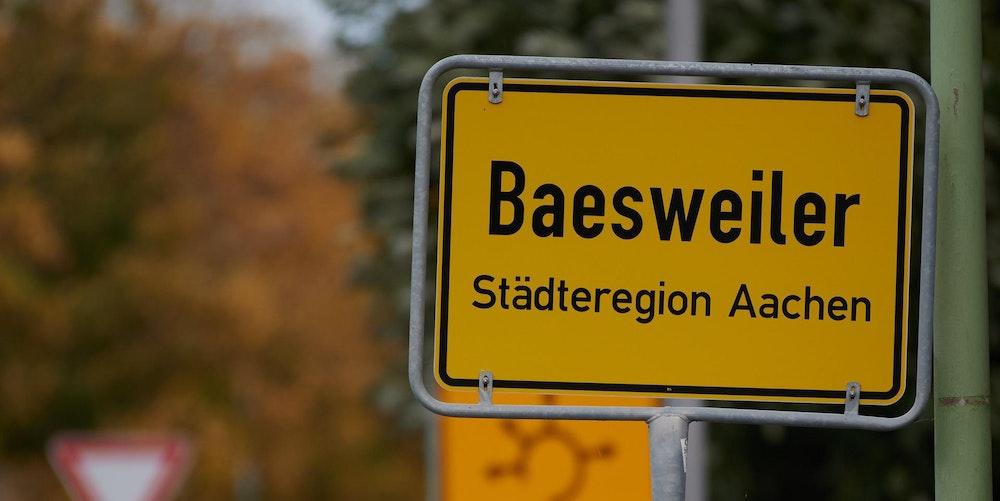 baesweiler ortsschild