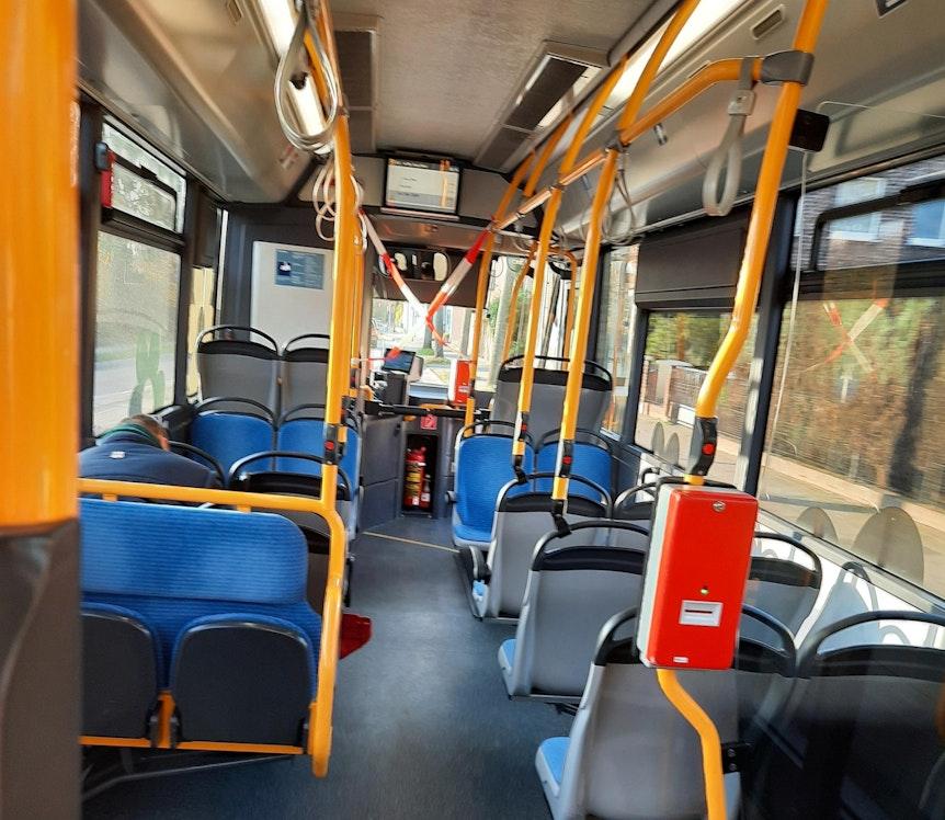Rheinban Corona Flatterband Bus