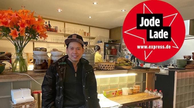 "Gastronom Toni Pham in seinem Restaurant ""Chum Chay"" in Köln."