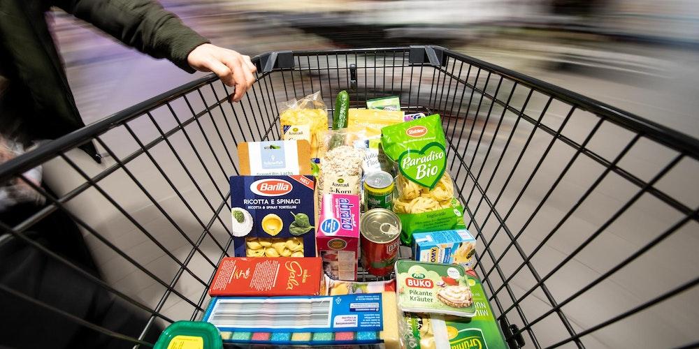 Supermarkt_Einkaufswagen