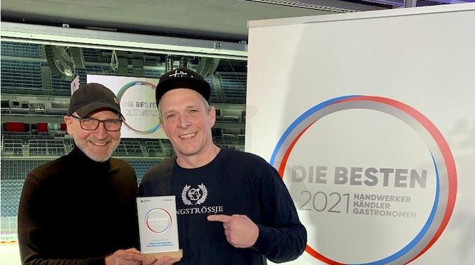 Rene Deichmann und Simon Stahl vom Wirtshaus em Ringströßje