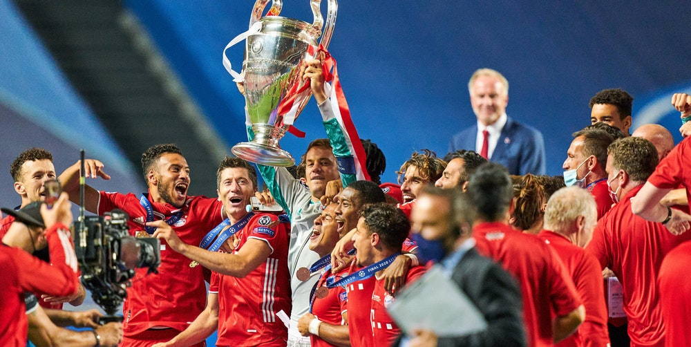 FC Bayern Champions League gewonnen