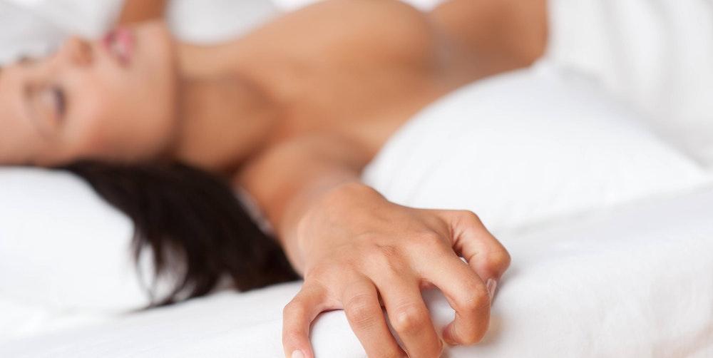 Orgasmus frau feuchter Sexualität/ Orgasmus