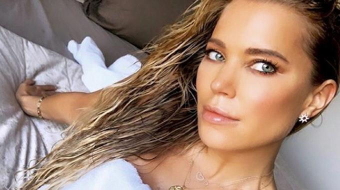Sylvie Meis postete dieses Selfie mit nassen Haaren im September 2019 auf ihrem Instagram-Account