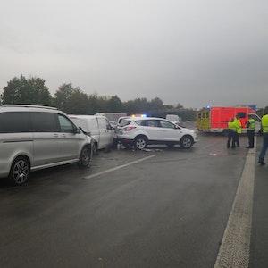 A3 Verkehrsunfall fordert 5 Verletzte