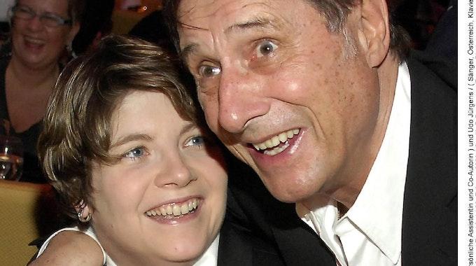 Udo Jürgens mit seiner Freundin Michaela.