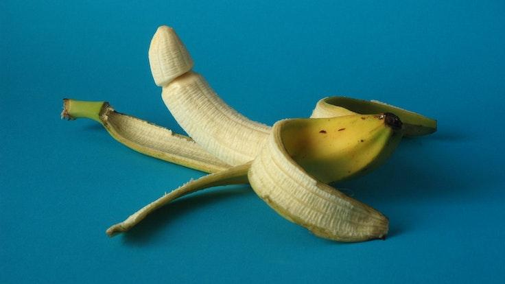 Banane Penis Symbolbild