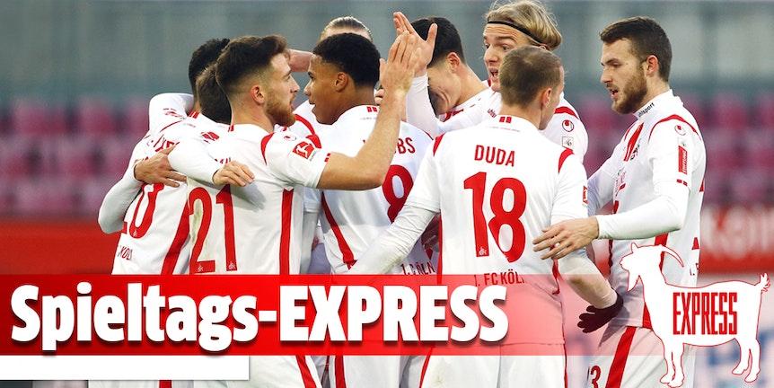Der Spieltags-EXPRESS ist ein Newsletter über den 1. FC Köln.