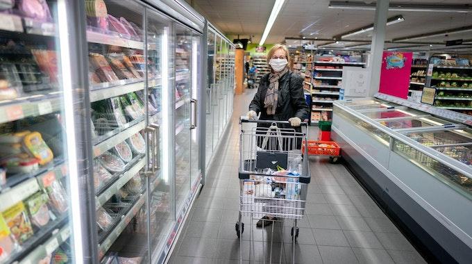 Supermarkt_Corona_Frau_Symbol