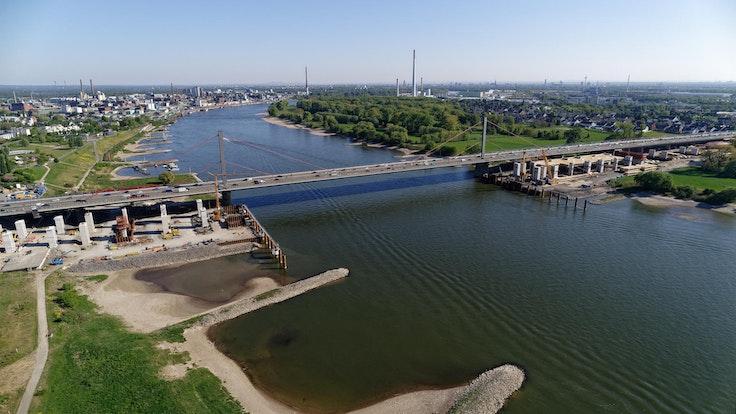 Leverkusener Brücke erlebt neuen Baustopp