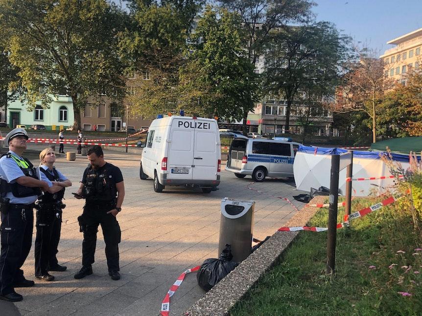 Ebertplatz groß polizei