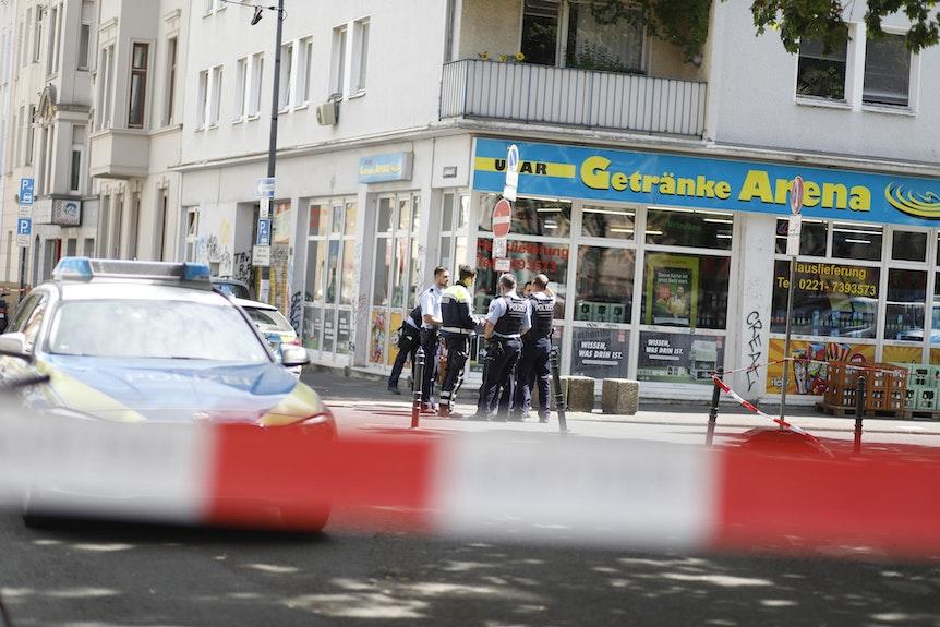 Der Tatort am Sudermannplatz