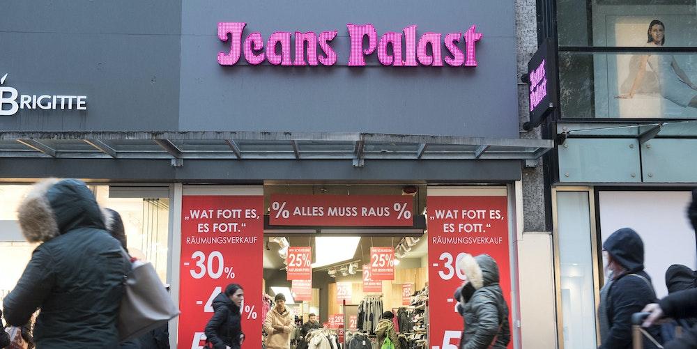 Jeans Palast Schildergasse
