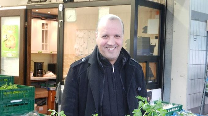 Seit 15 Jahren im Geschäft mit Kräutern: Ahmed Bouklata.