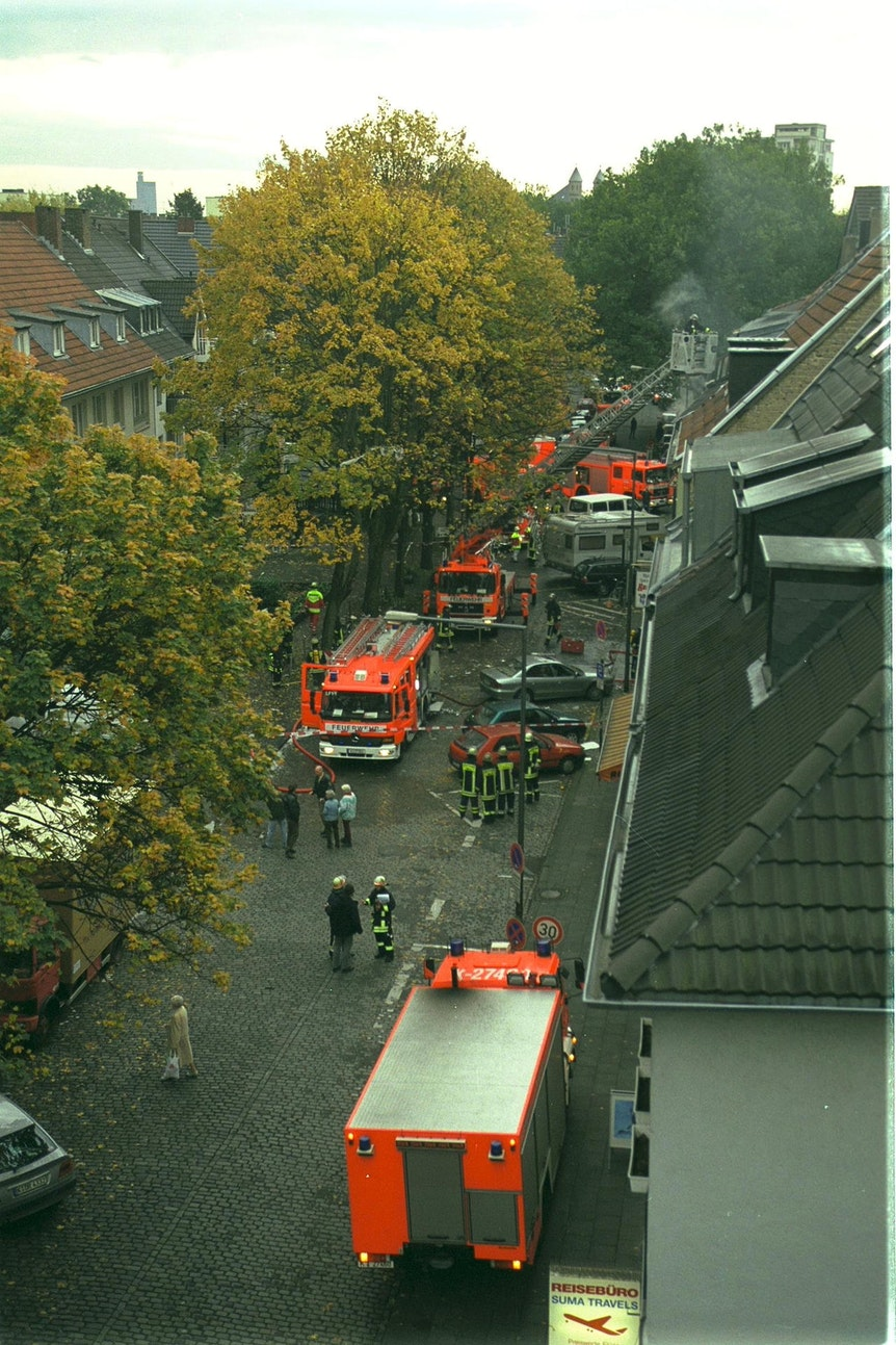 Feuerwehr in der Thieboldsgasse