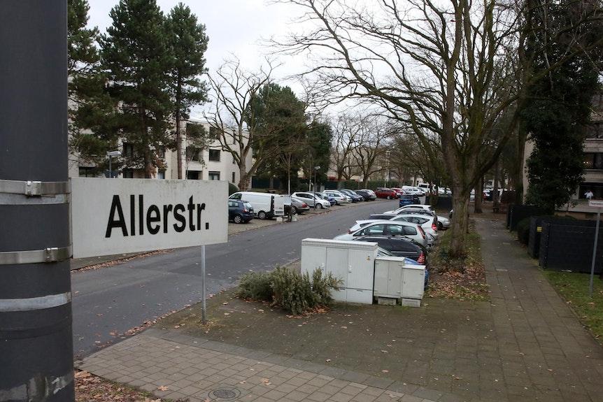 Die Allerstraße in Köln-Chorweiler.