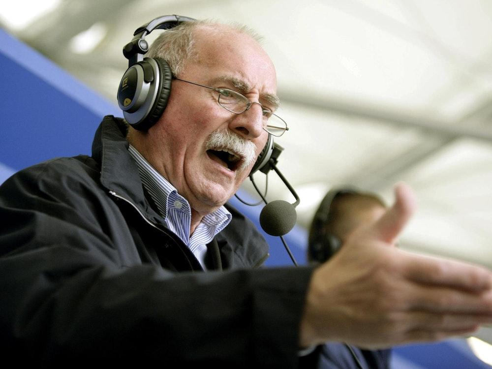 Werner Hansch verspielte durch Pferderennen Unsummen.