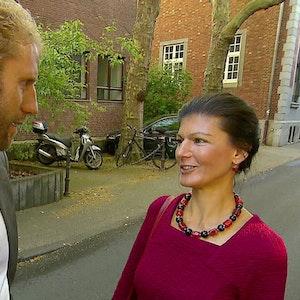 Rechtsanwalt Christopher Posch und Sahra Wagenknecht