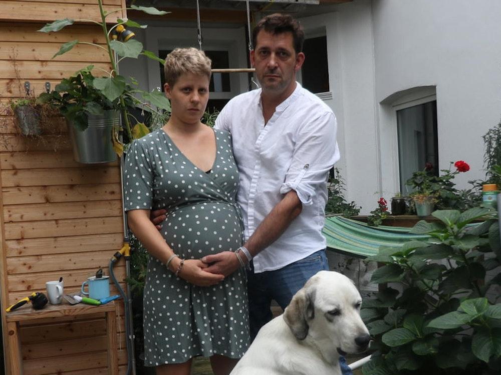 Die schwangere Kölnerin Rebecca Megaw wurde Opfer einer brutalen Attacke.