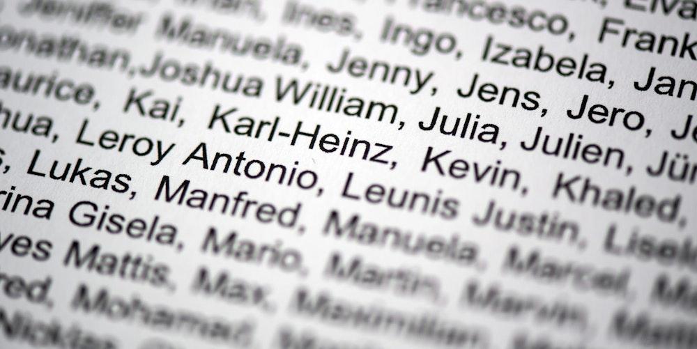 Vornamen Liste