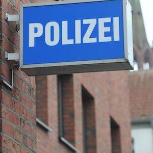 polizeiwache schild