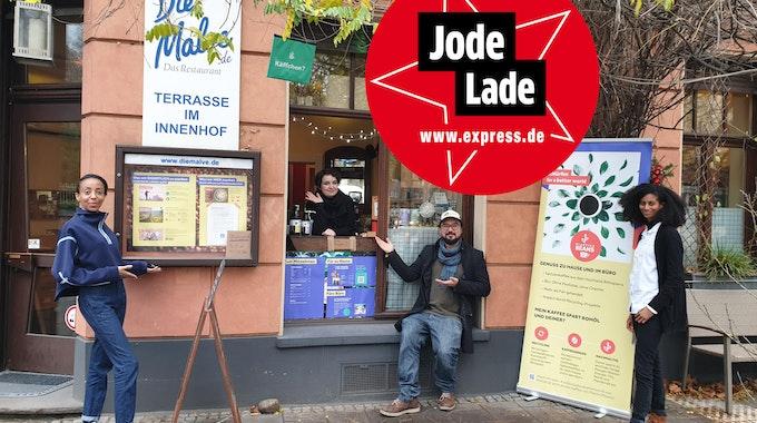 Das Team vom Zero Waste Cafe in Sülz.