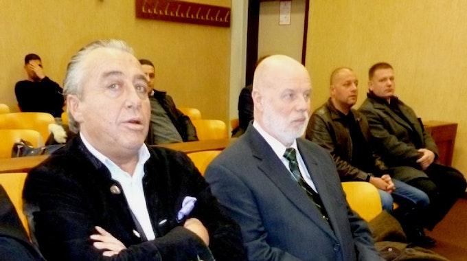 Herman Müller (links) und Armin Lobscheid im Amtsgericht.