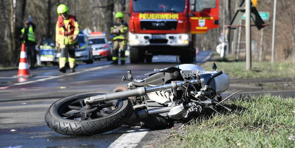 symbolfoto motorrad unfall