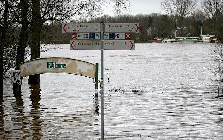 Porz-Hochwasser-170105