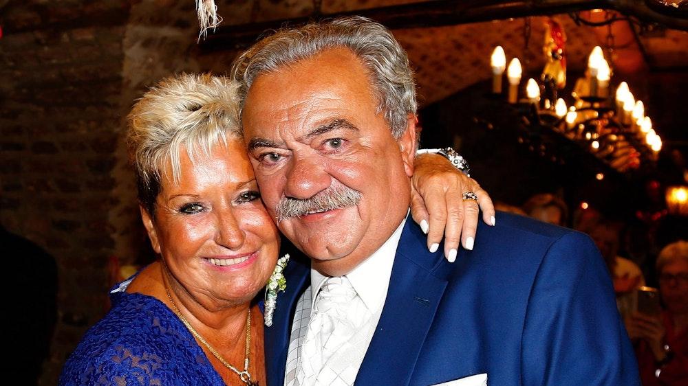 Marita Köllner und ihr Ehemann Peter Serbee