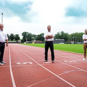 Die drei Leiter der Olympiastützpunkte in NRW haben sich in den vergangenen Wochen intensiv ausgetauscht und Lösungen entwickelt, um Sportlern so viel Normalität wie es geht zu ermöglichen (v.l.): Thomas Friedhoff (OSP Westfalen), Volker Lauer (OSP Rhein/Ruhr) und Daniel Müller (OSP Rheinland).