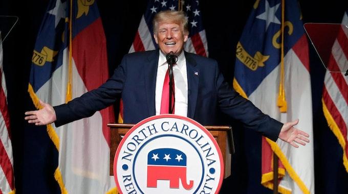 Trump will zurück ins Weiße Haus